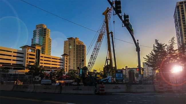 Feb 21, 2016 - Construction site of ONE St. Petersburg, St Pete FL/photonews247.com