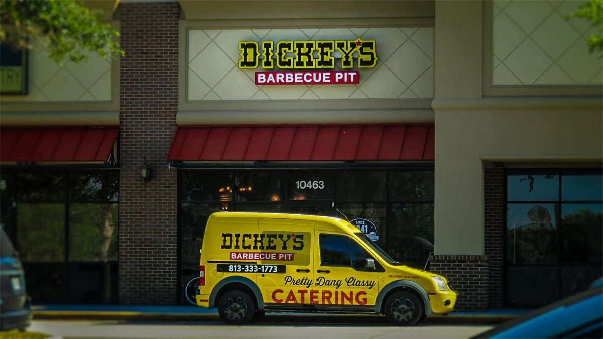 April 8, 2016 - Dickey's Barbecue Pit, Riverview, FL/photonews247.com