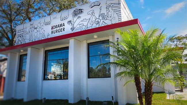 Jan 29, 2016 - Drama Burger Restaurant on Kennedy Blvd, South Tampa, FL/photonews247.com