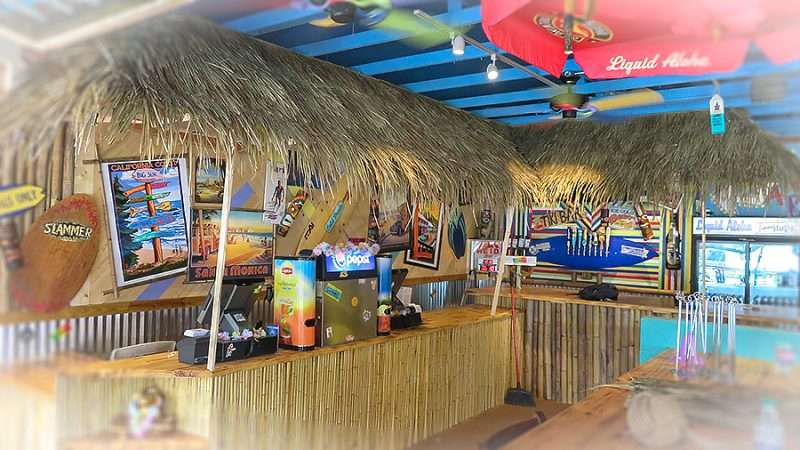 Jan 10, 2016 - Grass hut Tiki bar inside Jimmy Hula's Brandon/photonews247.com