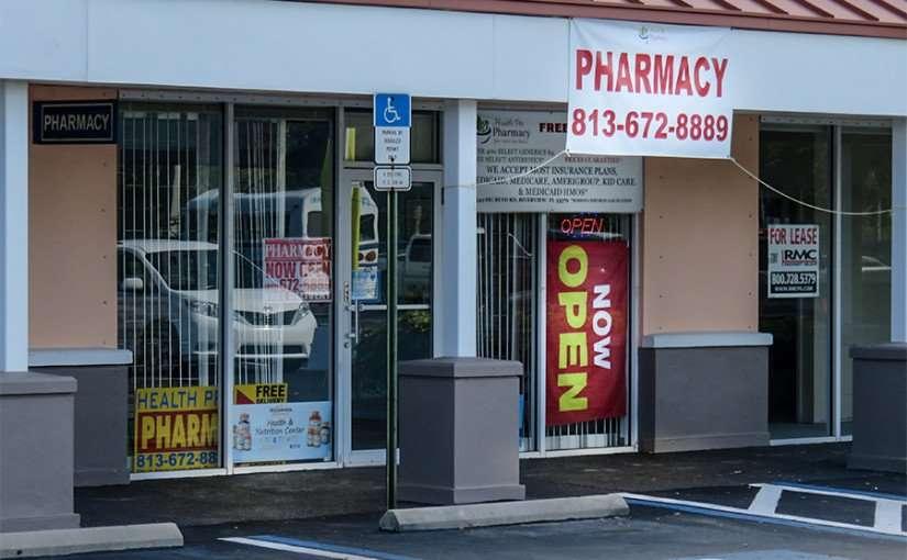 DEC 10, 2015 - Health Pro Pharmacy $4 prescriptions on Big Bend Road, Riverview, FL/photonews247.com