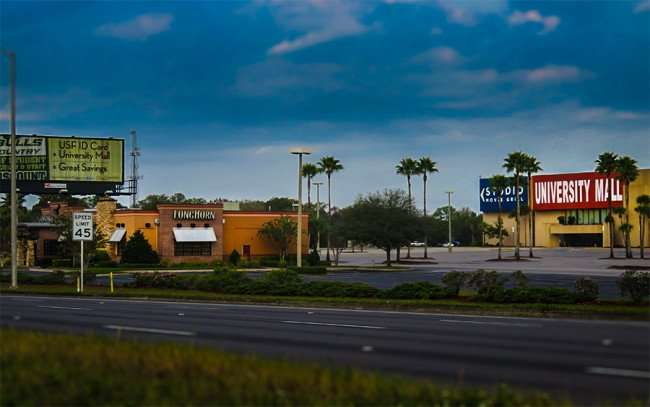 Jan 10, 2016 - LongHorn Steakhouse in stand alone building at University Mall on E Fowler Ave, Tampa, FL/photonews247.com
