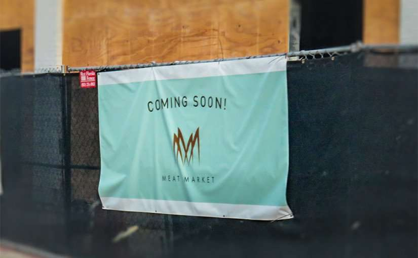 DEC 6, 2015 - Meat Market Steakhouse Restaurant coming soon to Hyde Park Village, Tampa, FL/photonews247.com