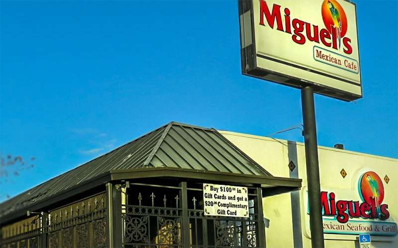 DEC 13, 2015 - Miguel's Mexican Seafood & Grill, Kennedy Blvd, Tampa, FL/photonews247.com