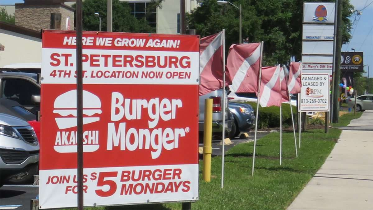 April 10, 2016 - Burger Monger, 4th Street St Petersburg now open/photonews247.com
