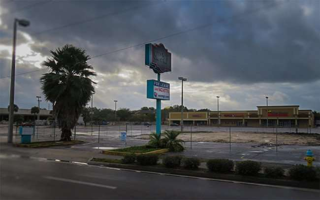 Jan 23, 2016 - Demolition of Miami Subs building maeks way for Ker's Winghouse on W Columbus Dr, Tampa, FL/photonews247com