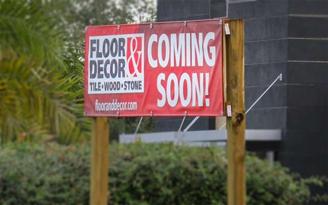 Jan 10, 2015 - Floor and Decor store coming to N Dale Mabry Hwy and Columbus Ave near Burger King, Tampa, FL/photonews247.com