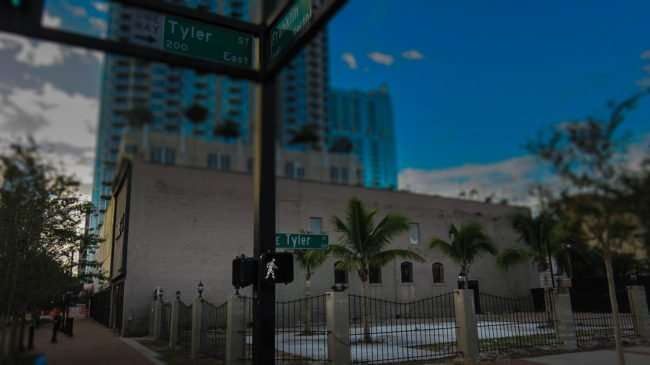 Dec 2015 - Future site of Franklin Manor at Franklin and Tyler streets in Tampa before renovations by Lanfranco Pescante and David Anderson/photonews247.com