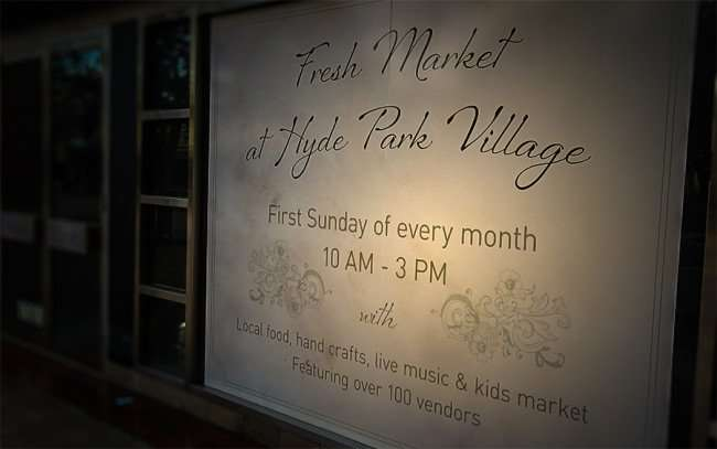 Jan 23, 2016 - Fresh Market at Hyde Park Village 1st Sunday each month, Tampa, FL/photonews247.com