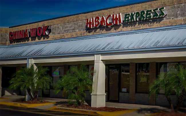 Jan 7, 2016 - Hibachi Japanese Express next to China Wok in Sun Point Shopping Center E College Ave, Ruskin, FL/photonews247.com