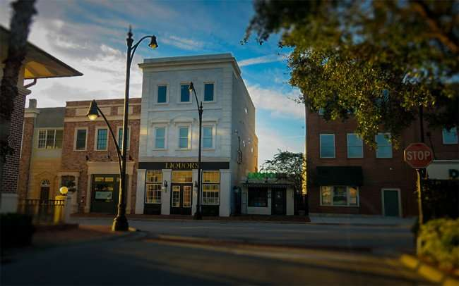 Jan 16, 2016 - Historic street and buildings created for Winthrop Town Center shopping center, Southshore, Riverview, FL/photonews247com