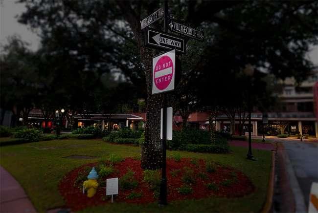 Jan 23, 2016 - Hyde Park Village shopping mall at Village Circle and Dakota, Tampa, FL/photonews247.com