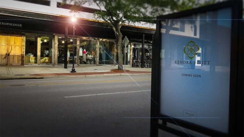 April 10, 2016 - Kendra Scott coming soon to Hyde Park Village, Tampa, FL/photonews247.com