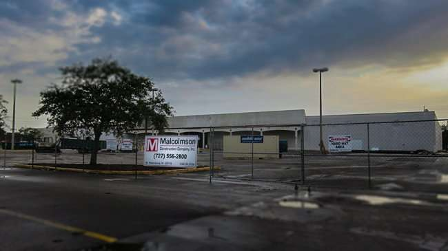 Jan 10, 2016 - Malcolmson Construction Company renovating old Kmart building to Ashley Furniture on 2915 N Dale Mabry Tampa, FL/photonews247.com