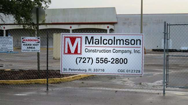 Jan 10, 2016 - Malcolmson Construction Company renovating old Kmart to Ashley Furniture on 2915 N Dale Mabry Tampa, FL/photonews247.com