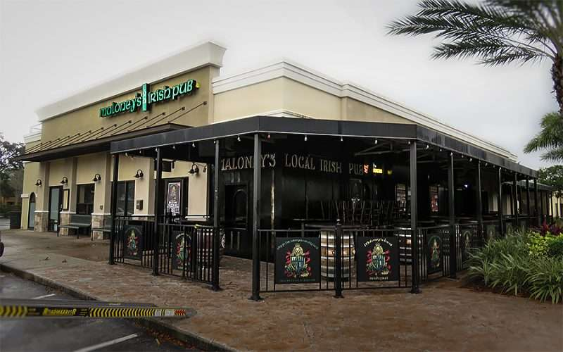 Jan 23, 2016 - Maloney's Local Irish Pub getting deliveries at Carrollwood Tampa/photonews247.com