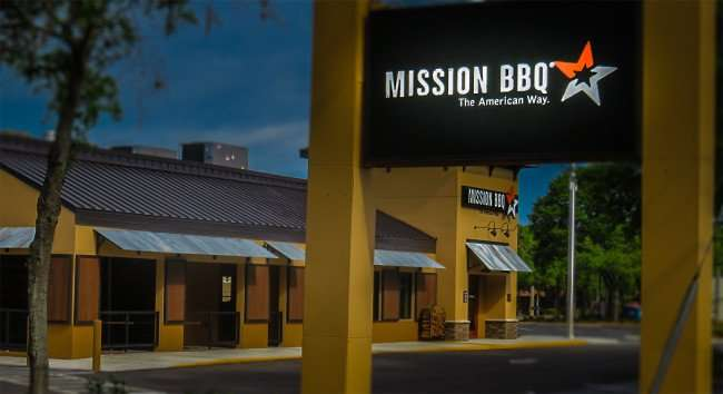 April 10, 2016 - Mission BBQ building finished on Bruce B Downs, Tampa, FL/photonews247.com