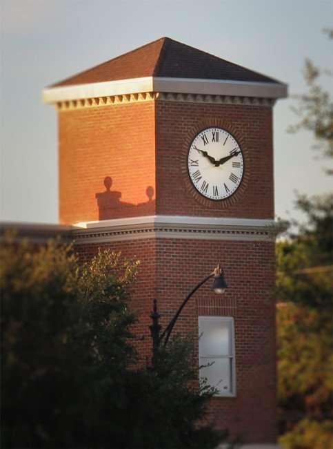 Jan 16, 2016 - Publix clock tower at Winthop Town Centre in Southshore Riverview, FL/photonews247.com