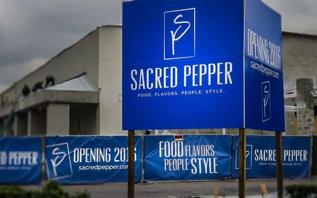 Jan 23, 2016 - Sacred Pepper American restaurant with Italian flair under construction on N Dale Maybry, Tampa/photonews247com
