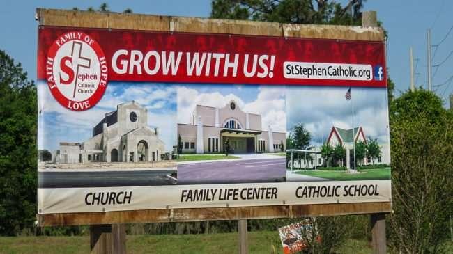 May 8, 2016 - St Stephen Catholic Church love, faith, hope, Riverview, FL/photonews247.com