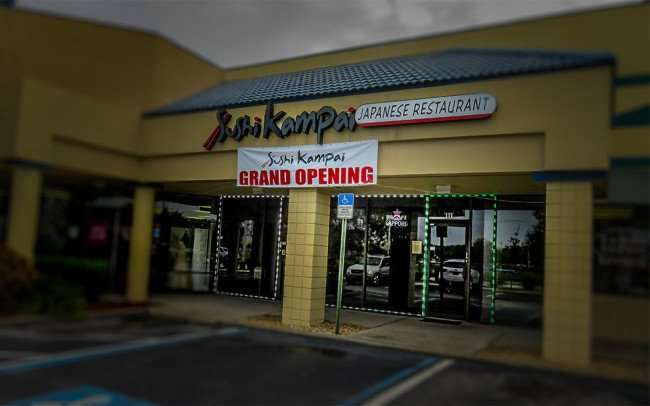 Jan 10, 2016 - Sushi Kampai Japanese Restaurant Grand Opening on Bloomingdale Ave, Riverview, FL/photonews247.com