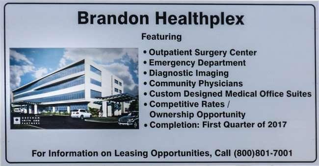 Mar 27, 2016 - TBG Brandon Healthplex Palm River Road,/photonews247.com