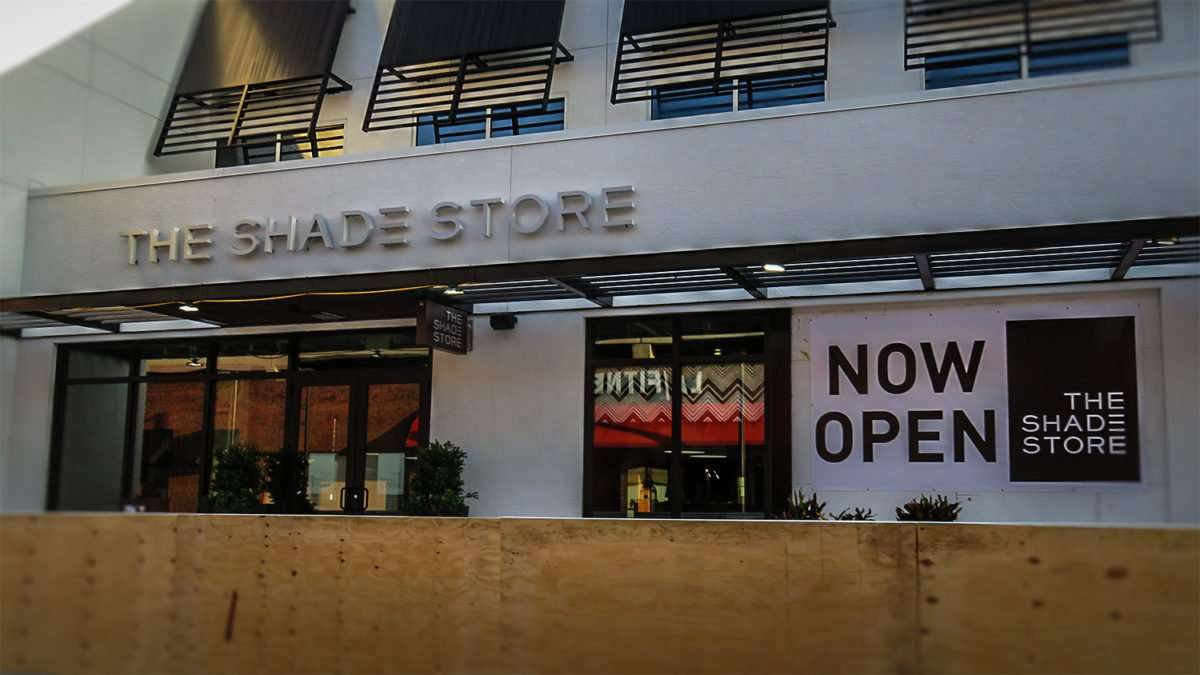 April 24, 2016 - The Shade Store opens on Swann Ave in Hyde Park Village, Tampa, FL/photonews247.com