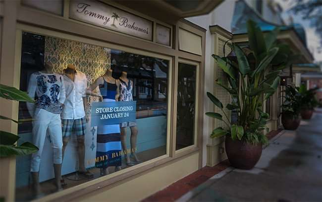 Jan 23, 2016 - Tommy Bahama's clothing store closes in upscale Hyde Park Village shopping center, Tampa/photonews247.com