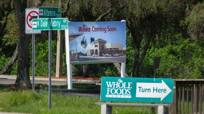 April 10, 2016 - Wawa coming to N Dale Mabry, Carrollwood Tampa, FL/photonews247.com