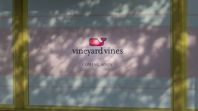 April 10, 2016 - vineyard vines coming soon to Hyde Park Village, Tampa/photonews247.com
