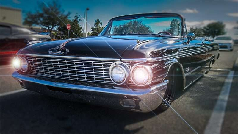 1962 Ford Galaxie 500 Convertible Wob Brandon Photo