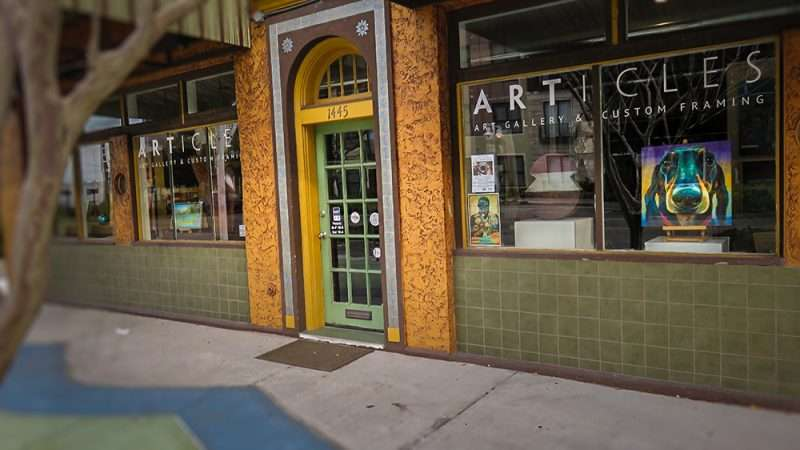 Jan 31, 2016 - Articles Art Gallery & Custom Framing shop, 1445 Central Ave, St, Pete/photonews247.com