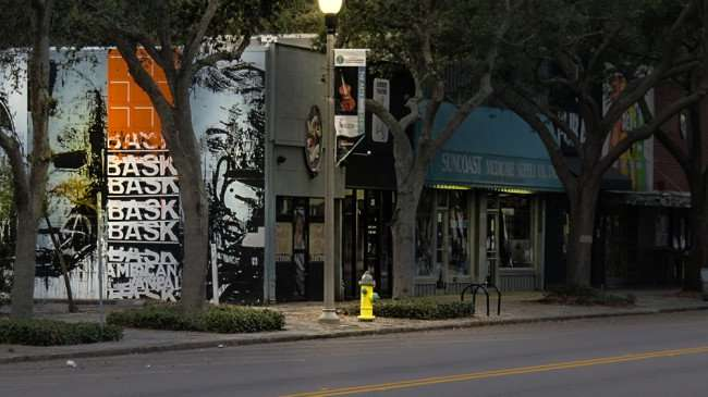 Jan 31, 2016 - Bask mural on Foolish Pride Tattoos building on Central Ave, St Pete/photonews247.com