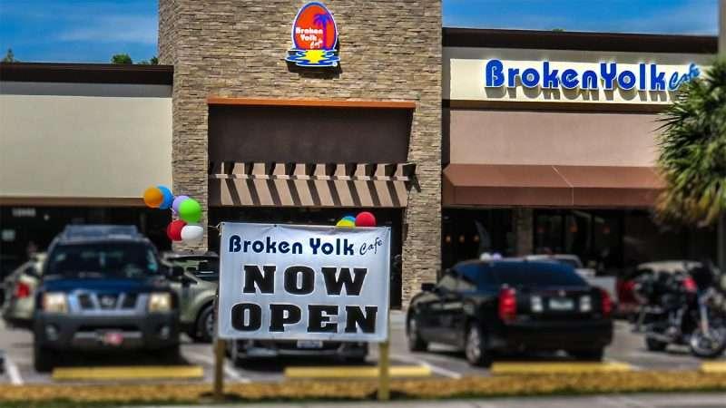 Broken Yolk Cafe Tampa Menu