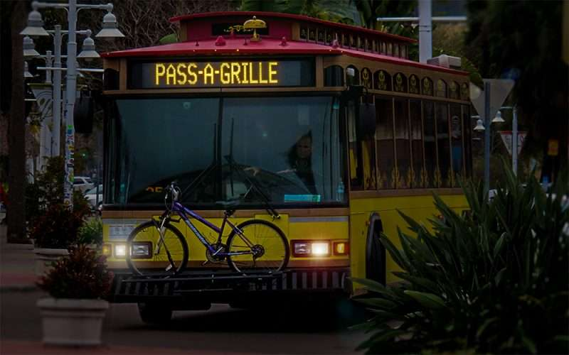 Jan 31, 2016 - Central Avenue Trolley from St Pete Beach to Pass a Grill beach/photonews247.com
