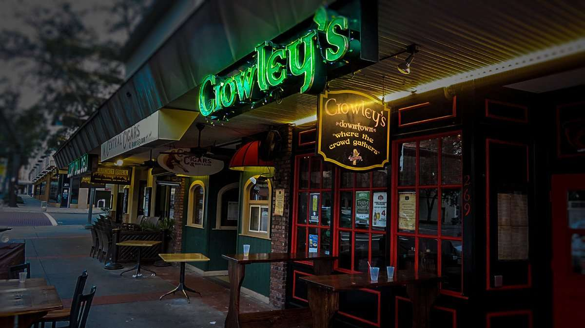 Feb 21, 2016 - Crowley's Irish Pub in the Jannus Landing section of Downtown St. Pete/photonews247.com