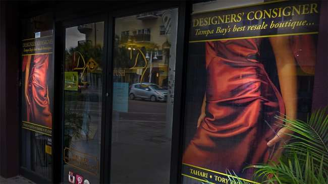 Jan 31, 2016 - Designers' Consigner, Tampa best resale boutique on Central Ave, St Petersburg, FL/photonews247.com