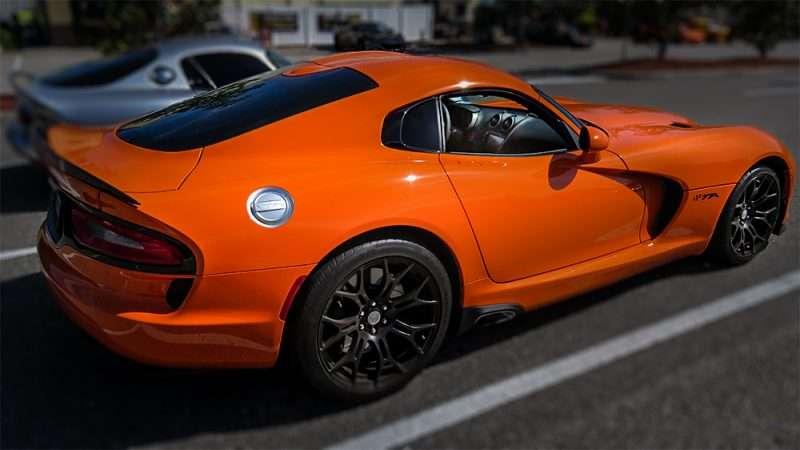 Ta Orange Dodge Viper Wob Brandon Photo News 247