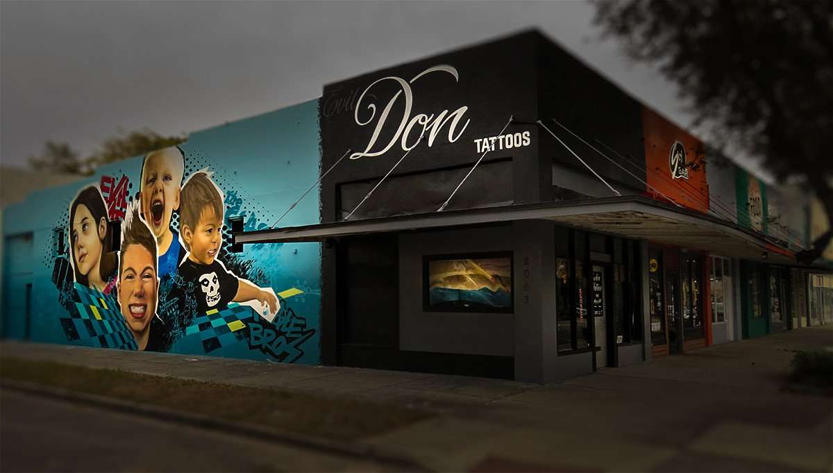 Don's Custom Tattoos and Art Gallery 12 - 7 pm, St Petersburg, FL/photonews247.com