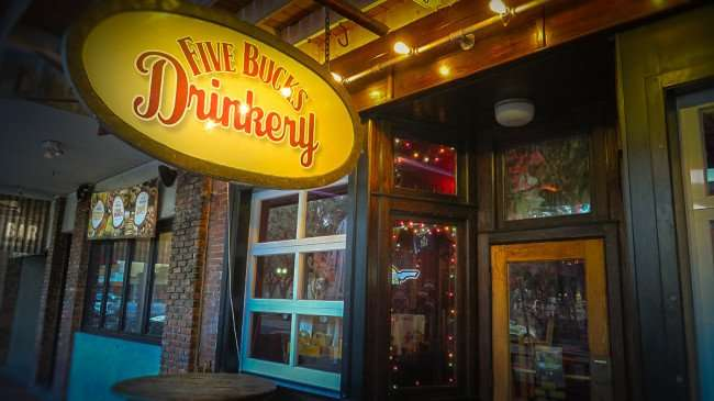 Feb 21, 2016 - Five Bucks Drinkery, Jannus Landing, Central Avenue, St Pete/photonews247.com