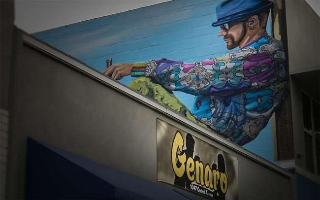 Jan 31, 2016 - Genaro Coffee shop mural, 1047 Central Avenue, St Petersburg, FL/photonews247.com