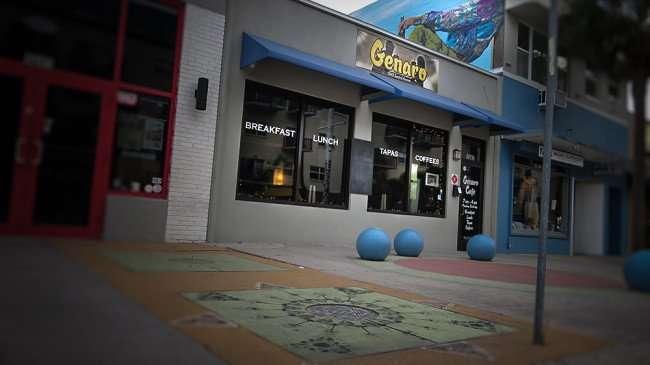Jan 31, 2016 - Genaro Coffee shop restaurant, Central Ave, St Petersburg, FL/photonews247.com