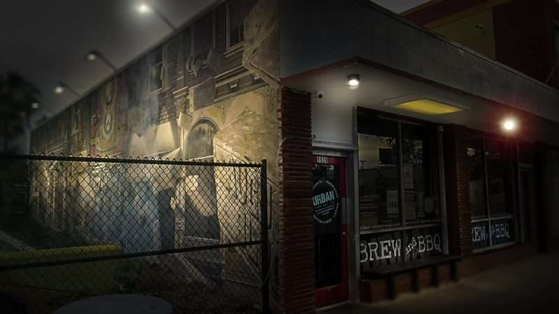 Jan 31, 2016 - Mural on Urban Brew And BBQ building on Central Ave, Edge District, St Pete/photonews247.com