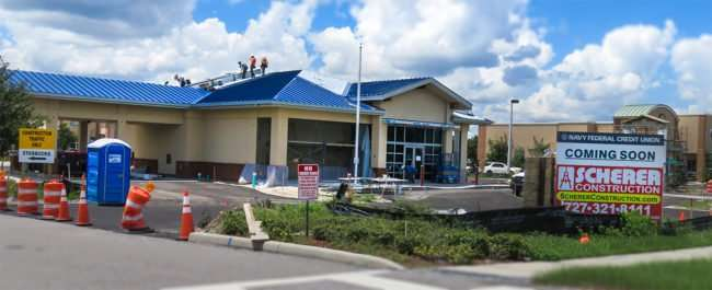 Aug 15, 2016 - Navy Federal Credit Union by Scherer Construction, US-301, Riverview, FL/photonews247.com