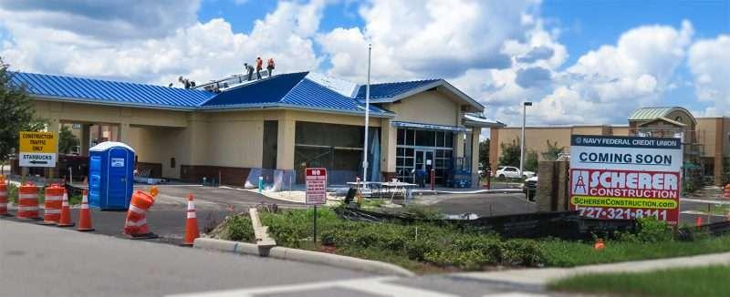 Aug 15, 2016 - Navy Federal Credit Union by Scherer Construction, US-301, Riverview, FL/photonews247.com