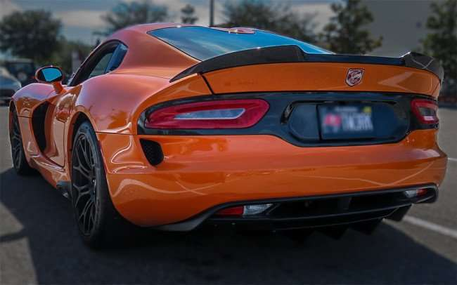 Feb 14, 2016 - Orange Dodge Viper 2014 at Wob, Brandon, FL/photonews247.com