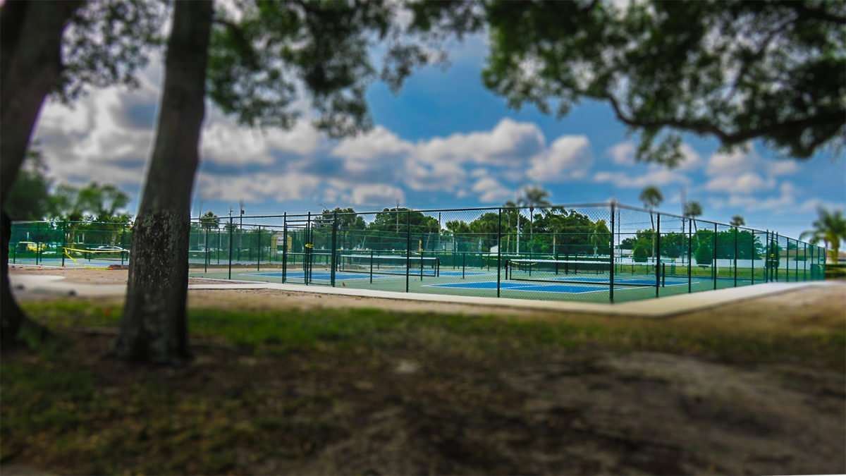 April 22, 2016 - Pickleball courts, Kings Point Sun City Center, FL/photonews247.com