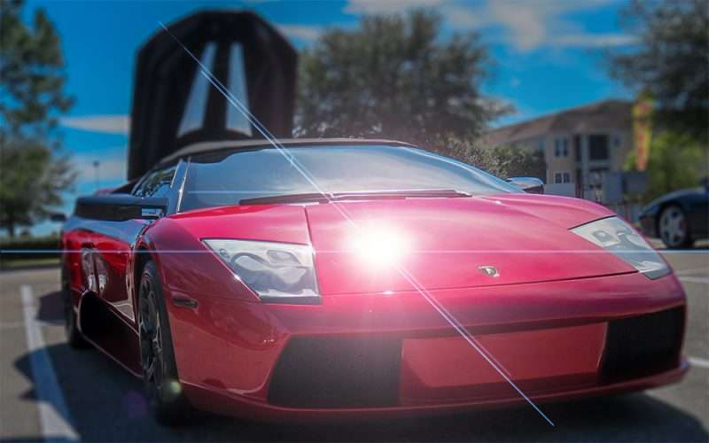 Feb 14, 2016 - Red Lamborghini convertible at WoB, Brandon, FL/photonews247.com