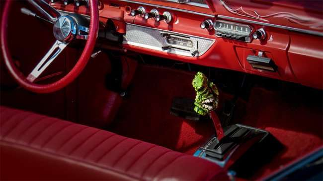 Feb 14, 2016 - Red interior of 1962 Ford Galaxie 500 Convertible at Wob, Brandon, FL/photonews247.com