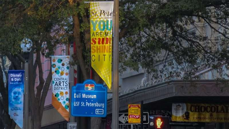 Feb 21, 2016 - St Petersburg You Are My Sunshine City on banner, Central Arts District Banner, Dali Banner/photonews247.com